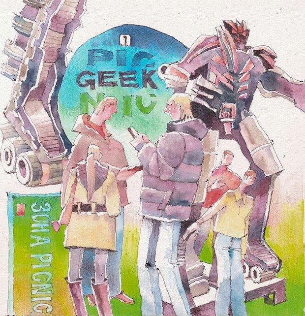 Клуб рисовальщиков: Geek Picnic. Изображение № 4.