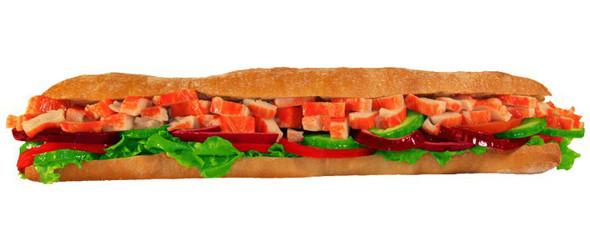 Сэндвич с крабовым мясом в «Нямс». Изображение № 7.