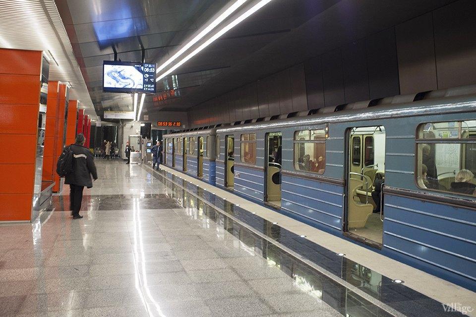 Фоторепортаж: Час пик на станции «Выхино». Изображение № 4.