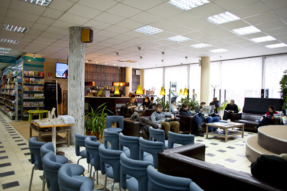 После прочтения съесть: 5 кафе при магазинах. Изображение № 39.
