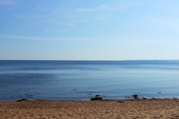 В Ладожском озере уровень воды опустился на75сантиметров ниже нормы. Изображение № 1.