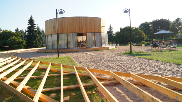 Новости парков: Бассейн в «Сокольниках», променад в «Музеоне» и баскетбол в Северном Тушине . Изображение № 10.