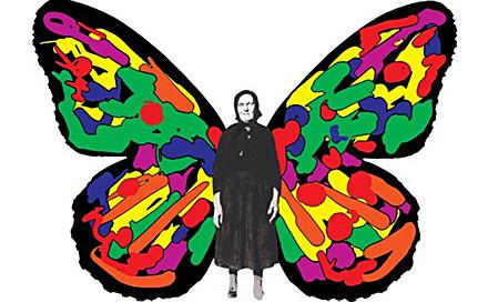 Иллюстрация к афише спектакля «Бабушки» театра «Практика»