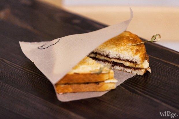 Сэндвич Chocolady (шоколад, банан)  — 90 рублей. Изображение № 9.
