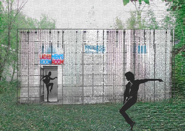 В Измайловском парке появится дизайнерский туалет. Изображение № 3.