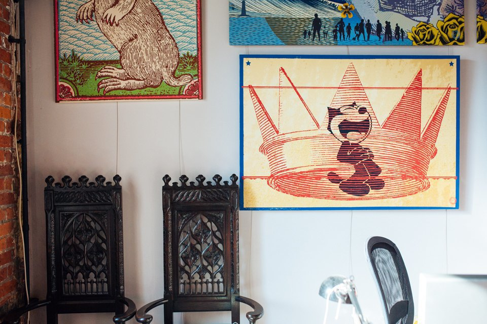 Как дизайнеры стали делать плакаты для дома. Изображение № 4.