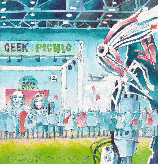 Клуб рисовальщиков: Geek Picnic. Изображение № 9.