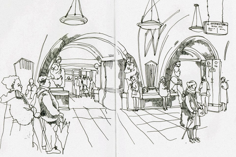 Клуб рисовальщиков: Метро. Изображение № 5.