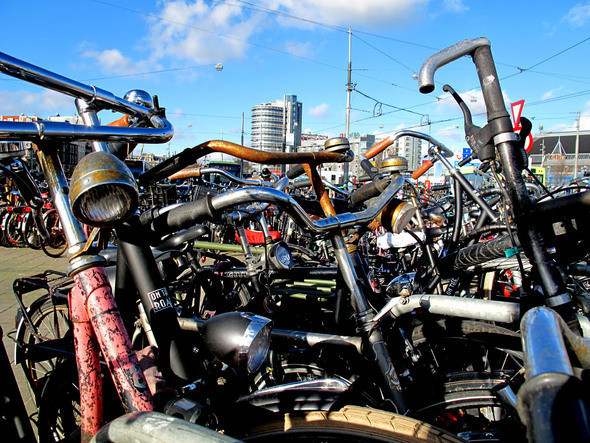 старый велосипед лучше новой машины