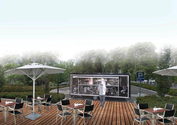 Опубликована визуализация набережной южной части Крестовского острова без ресторанов. Изображение № 8.
