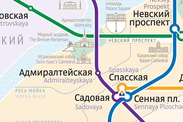 Как выглядит схема петербургского метро от Студии Лебедева. Изображение № 3.