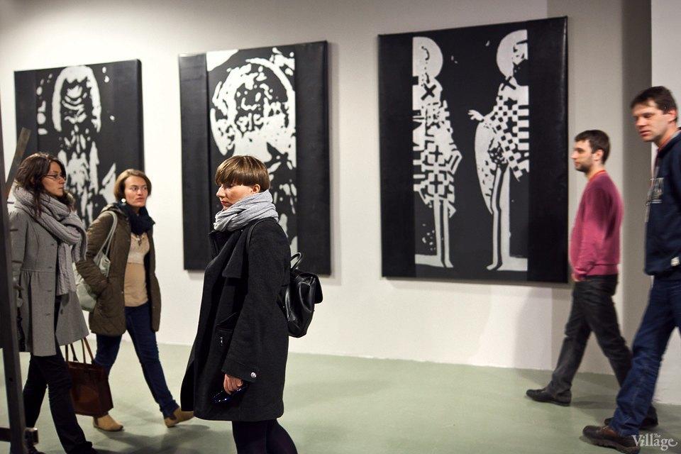 Люди в городе: Первые посетители выставки Icons в Петербурге. Изображение № 21.