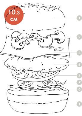 Между булок: что внутри у самых больших московских бургеров, часть 1. Изображение № 53.
