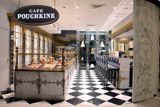 Кондитерская Café Pouchkine в универмаге Le Printemps в Париже. Изображение № 1.