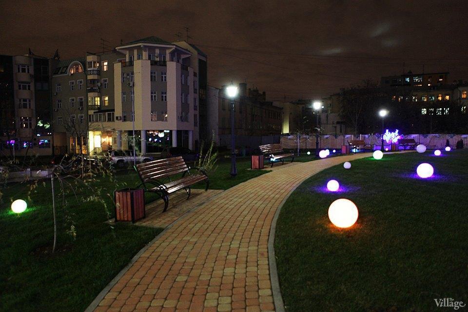 Фото ночи: Новый парк на«Трубной». Изображение № 2.