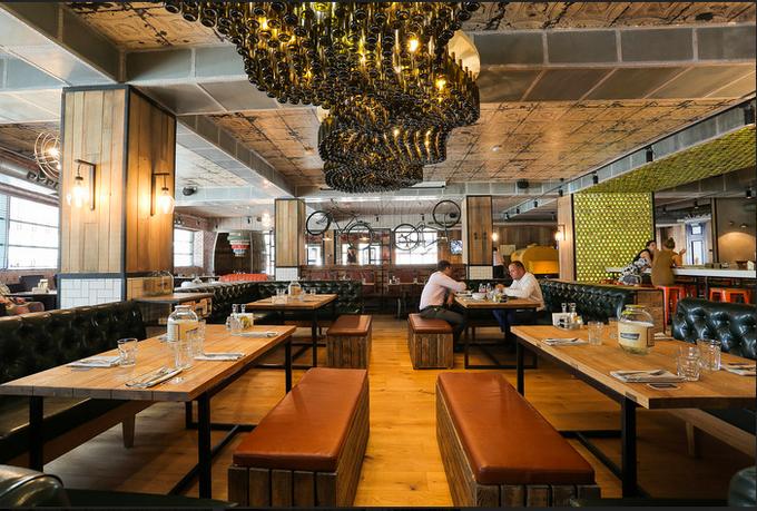 В Хорошёво-Мнёвниках открылся ресторан «Альбатрос» спивом по жетонам. Изображение № 3.