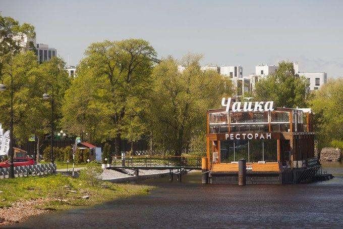 На месте ресторана «Елагин» откроется новое заведение от создателей Le Boat и Ferma . Изображение № 1.