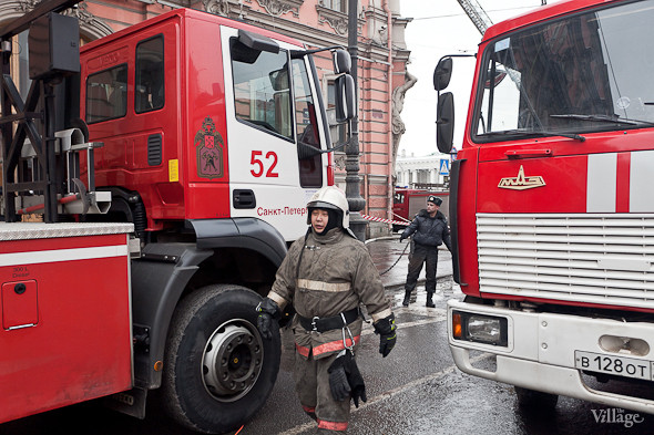 В Петербурге горел дворец Белосельских-Белозерских. Изображение № 9.