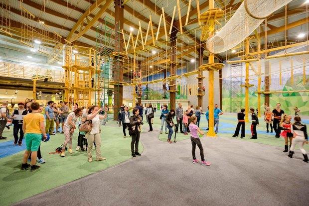 В«Питерлэнде» открылся большой верёвочный парк. Изображение № 2.
