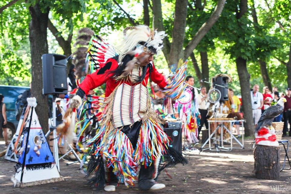 Гости столицы: Как вМоскве оказались индейские музыканты. Изображение № 1.