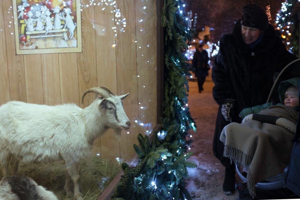 Как украсили Москву кНовому году. Изображение № 14.
