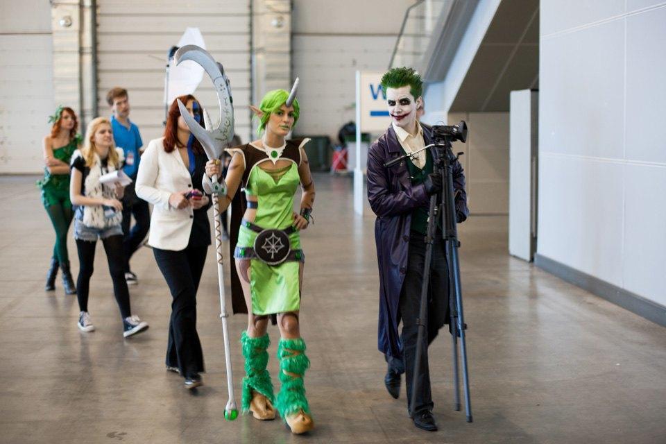 Бэтмен, Джокер, Сейлор Мун и ещё 10 героев российского Comic Con. Изображение № 9.