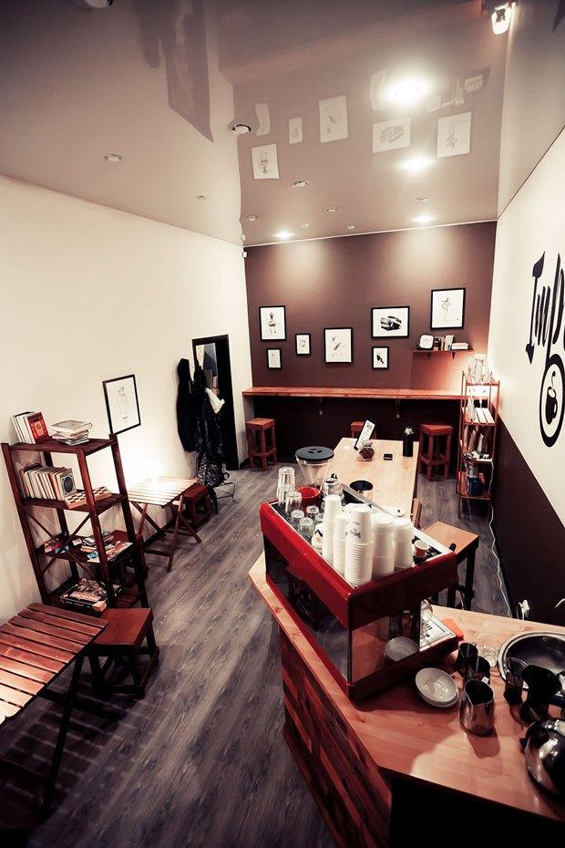 Кофейня Impress переехала вКовенский переулок. Изображение № 2.