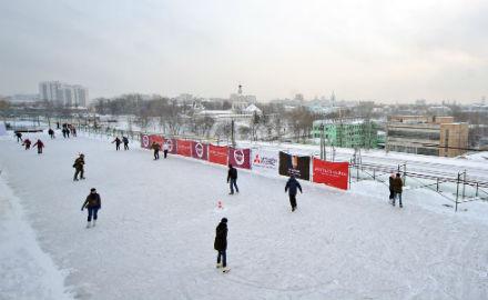Лёд тронулся: Зимние катки в Москве. Изображение № 17.