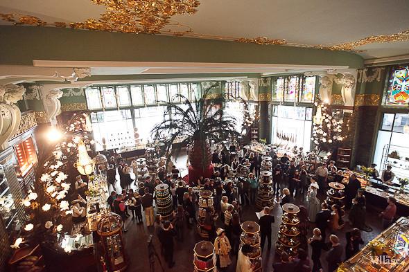Фоторепортаж: Открытие отреставрированного «Елисеевского магазина». Изображение № 22.