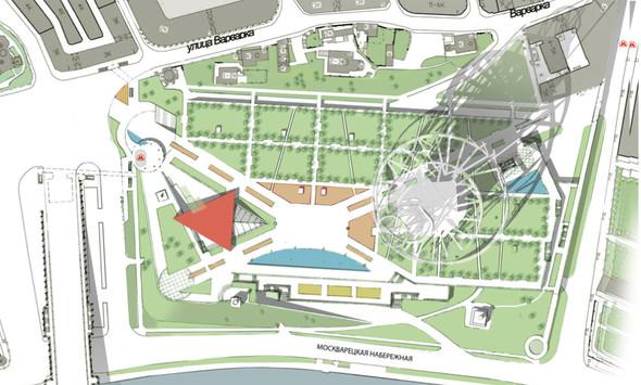 Москомархитектура выбрала 118 проектов парка в Зарядье. Изображение № 44.