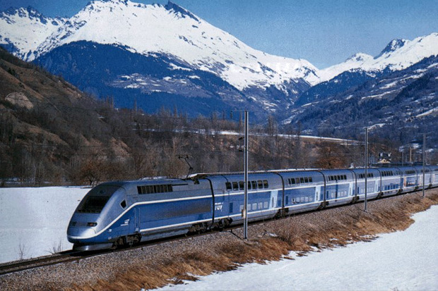 TGV Duplex — серия французских высокоскоростных двухэтажных электропоездов компании Alstom Transport . Изображение № 5.