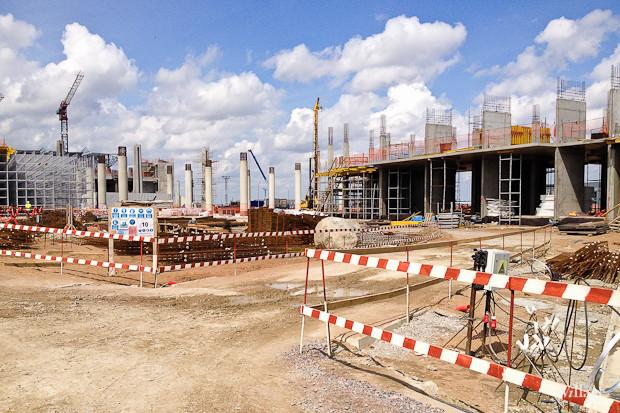 Фоторепортаж: Каким будет новый терминал Пулкова. Изображение № 3.