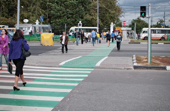 Итоги недели: Велодорожки в Москве. Изображение № 9.