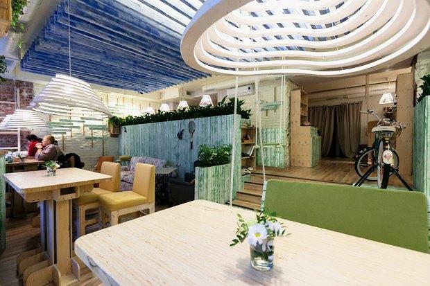 18 вегетарианских кафе вПетербурге. Изображение № 3.