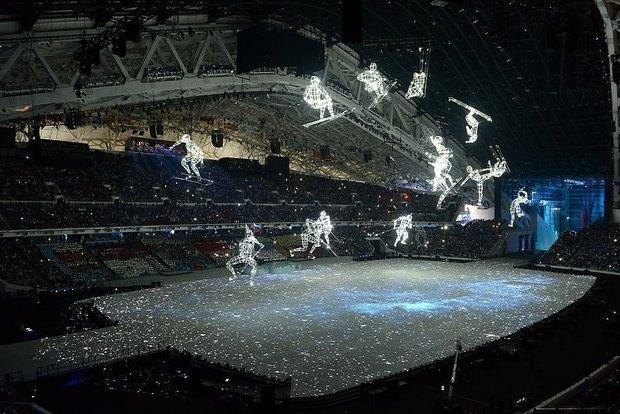 Куда люди смотрят: Что внутри Олимпийских стадионов. Изображение № 6.