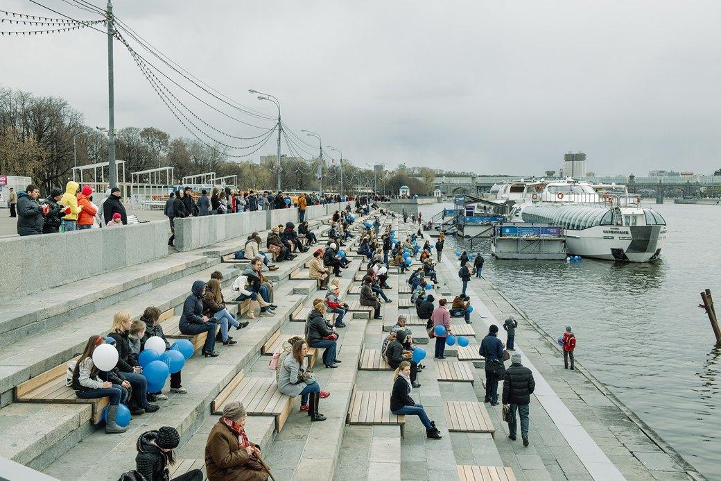Как прошёл первый парад пассажирских теплоходов в Москве. Изображение № 14.