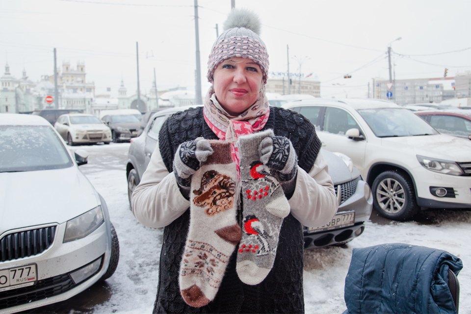 Кто продаёт шерстяные носки наулицах Москвы. Изображение № 9.