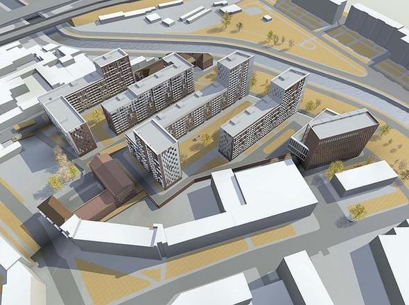 На набережной Яузы построят многофункциональный жилой комплекс. Изображение № 7.