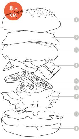 Между булок: Что внутри у самых больших московских бургеров, часть 2. Изображение № 11.