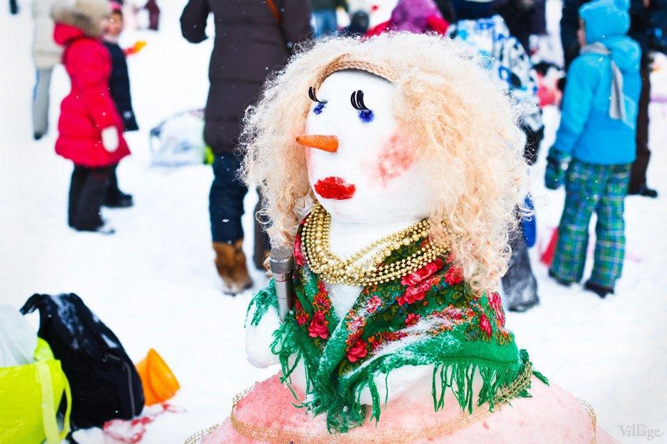 Люди в городе: «Арт-битва снеговиков». Изображение № 10.