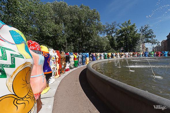 В Александровском саду выставили медведей United Buddy Bears. Изображение № 4.