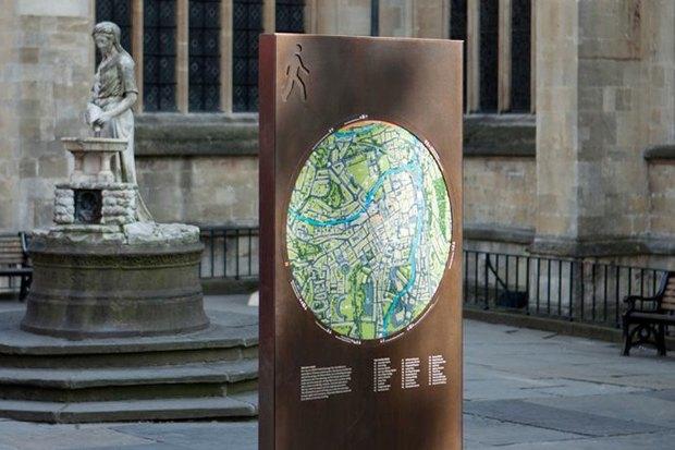 Система навигации в Бате (Великобритания) City ID, 2009. Изображение № 7.