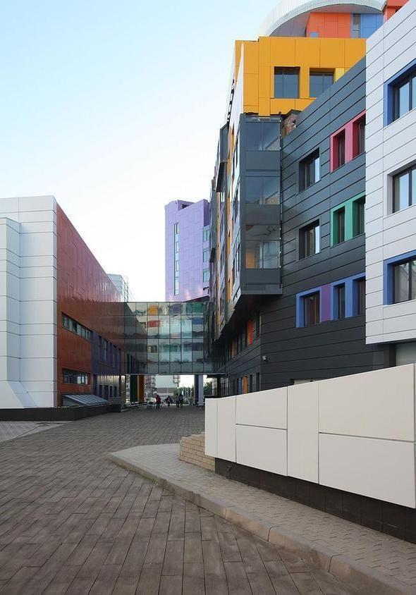 Изображение 1. На юго-западе Москвы открылась разноцветная детская больница.. Изображение № 5.