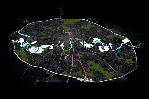 Представлены доработанные проекты развития Московской агломерации. Изображение № 10.