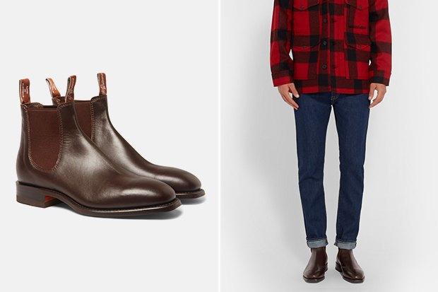 21 пара мужской обуви наосень. Изображение № 17.