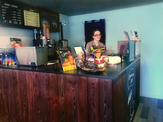 На «Динамо» открылась кофейня сети Coffee and the City. Изображение № 1.