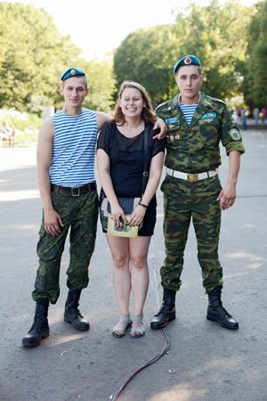 Люди в городе: Как отмечали День ВДВ в парке Горького. Изображение № 31.