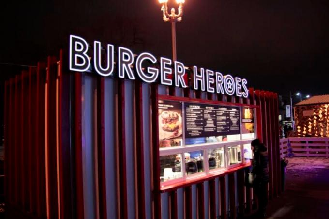 Burger Heroes открывает точку накатке ВДНХ. Изображение № 2.