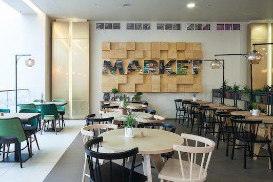 В «Галерее» открылся ресторан самообслуживания MarketPlace . Изображение № 4.
