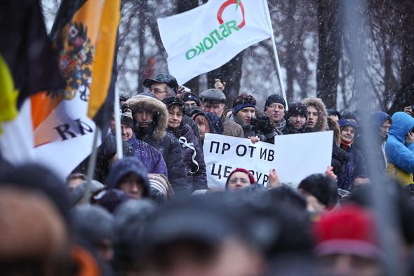 Фоторепортаж: Митинг против фальсификации выборов. Изображение № 33.